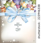 abstract holiday background... | Shutterstock .eps vector #223946338