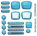 cartoon diamonds elements for...