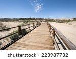 Wooden Walkway Over Dunes....