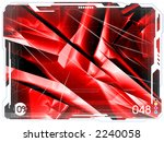 seria of very big blank... | Shutterstock . vector #2240058