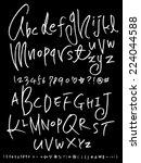 alphabet | Shutterstock .eps vector #224044588