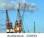 cranes | Shutterstock . vector #224053