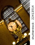 The Old Antique Clock In The...
