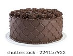 Triple Chocolate Cake Frosted...