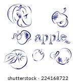 vector illustration of group of ... | Shutterstock .eps vector #224168722