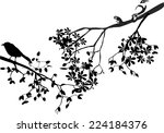 illustration of silhouettes of...
