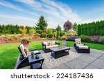 Impressive Backyard Landscape...