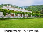 montenegro   old hotel in the... | Shutterstock . vector #224195308