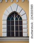 architecture of italian built... | Shutterstock . vector #224203585