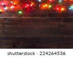 christmas light background | Shutterstock . vector #224264536