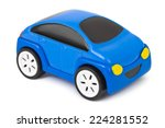 Toy Car Isolated On White...