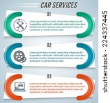 car service background business ... | Shutterstock .eps vector #224337445