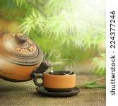Classical Asian Tea Set