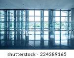 image of windows in morden... | Shutterstock . vector #224389165