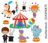 circus vector illustration | Shutterstock .eps vector #224396875
