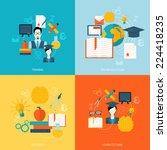 education school university... | Shutterstock .eps vector #224418235