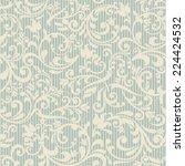 seamless vintage pattern | Shutterstock .eps vector #224424532