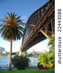harbour bridge  sydney | Shutterstock . vector #22443088