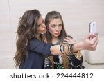"""beautiful girls with  taking a """"... 
