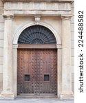 old door | Shutterstock . vector #224488582