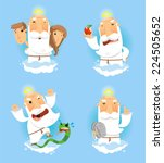 god in heaven stories from the... | Shutterstock .eps vector #224505652