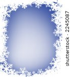 grunge decorative frame with... | Shutterstock .eps vector #2245087