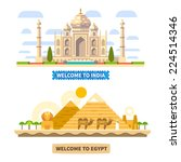 Welcome To India And Egypt....