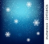abstract starry background for... | Shutterstock .eps vector #224518426