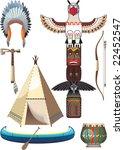 indian set | Shutterstock .eps vector #22452547