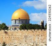 Al Aqsa Mosque On Temple Mount...