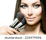 Постер, плакат: Beauty Girl with Makeup