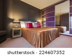 interior of a luxury bedroom | Shutterstock . vector #224607352