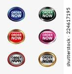 order now vector  | Shutterstock .eps vector #224617195