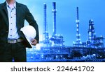 engineering man and safety... | Shutterstock . vector #224641702