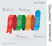 modern design template. vector... | Shutterstock .eps vector #224647402