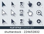 pixelated and smooth vector...   Shutterstock .eps vector #224652832