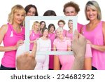 composite image of hand holding ... | Shutterstock . vector #224682922