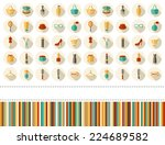 beauty fashion  sale  shopping... | Shutterstock . vector #224689582