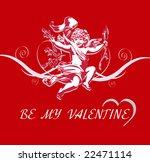 Valentine's Day Vector   Angel