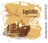 Sketch Logistics And Delivery...
