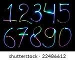 number | Shutterstock . vector #22486612
