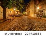Vintage Skadarska Street In...