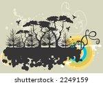 illustration of trees | Shutterstock .eps vector #2249159