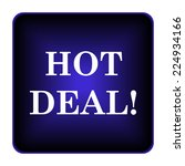 hot deal icon. internet button... | Shutterstock . vector #224934166