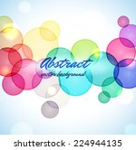 colorful abstract background   Shutterstock .eps vector #224944135