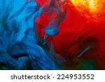 abstract paint splash background | Shutterstock . vector #224953552