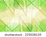 background of green and yellow... | Shutterstock . vector #225028135