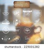 set of line labels for bio ...   Shutterstock .eps vector #225031282