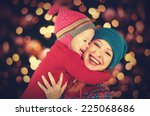 happy family mother and baby... | Shutterstock . vector #225068686