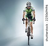 sport. athlete cyclists in... | Shutterstock . vector #225069496